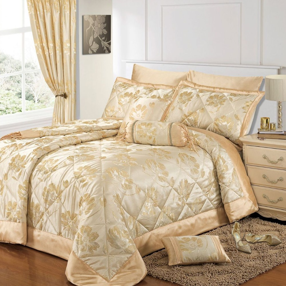 سرویس خواب طلایی و سفید