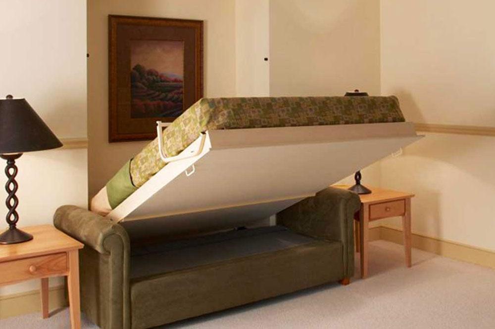 مدل تخت خواب دیواری