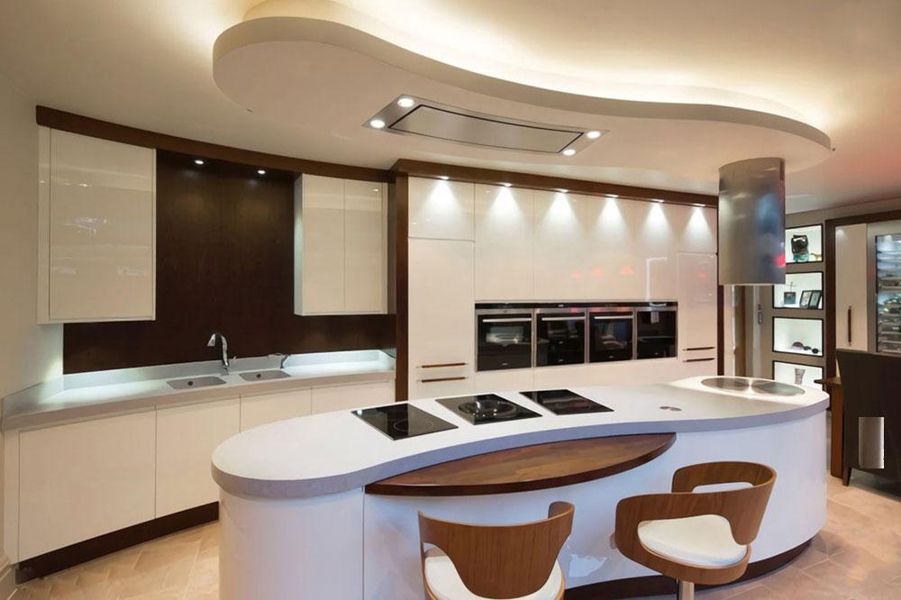 آشپزخانه سرد و گرم را در کنار هم جای دهید.