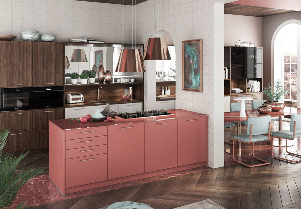 چند مدل اپن آشپزخانه زیبا و لوکس برای افراد باسلیقه و خلاق!
