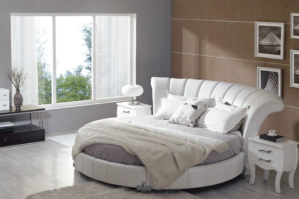 مدل تخت خواب جدید: تخت خواب دایره شکل