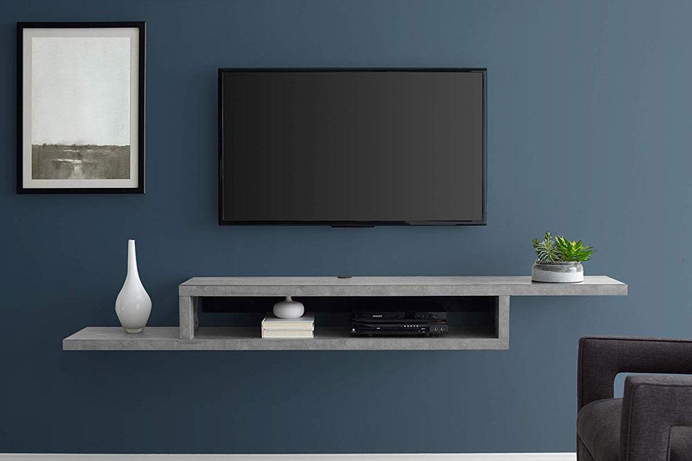 میز تلویزیون دیواری مدرن کوچک