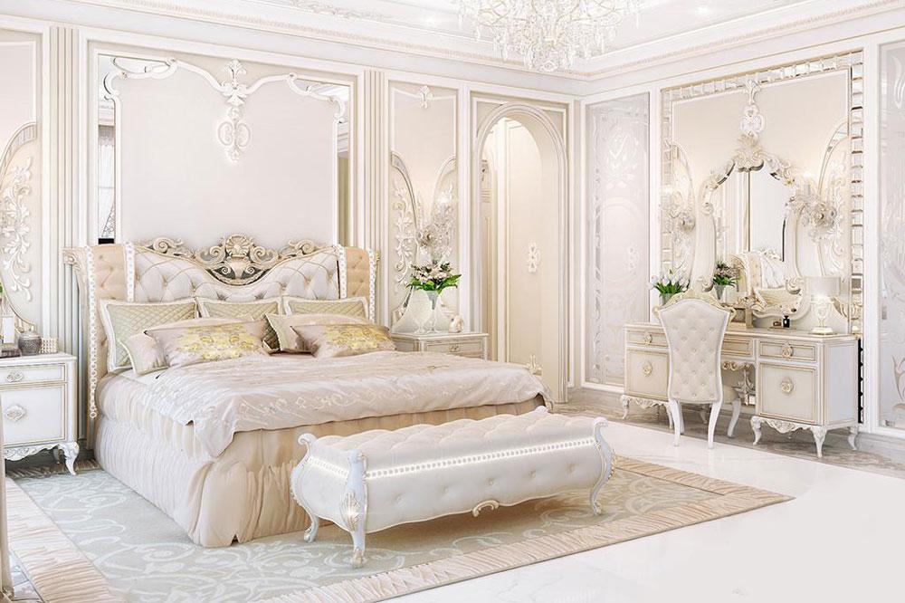 اتاق خواب عروس شاهانه