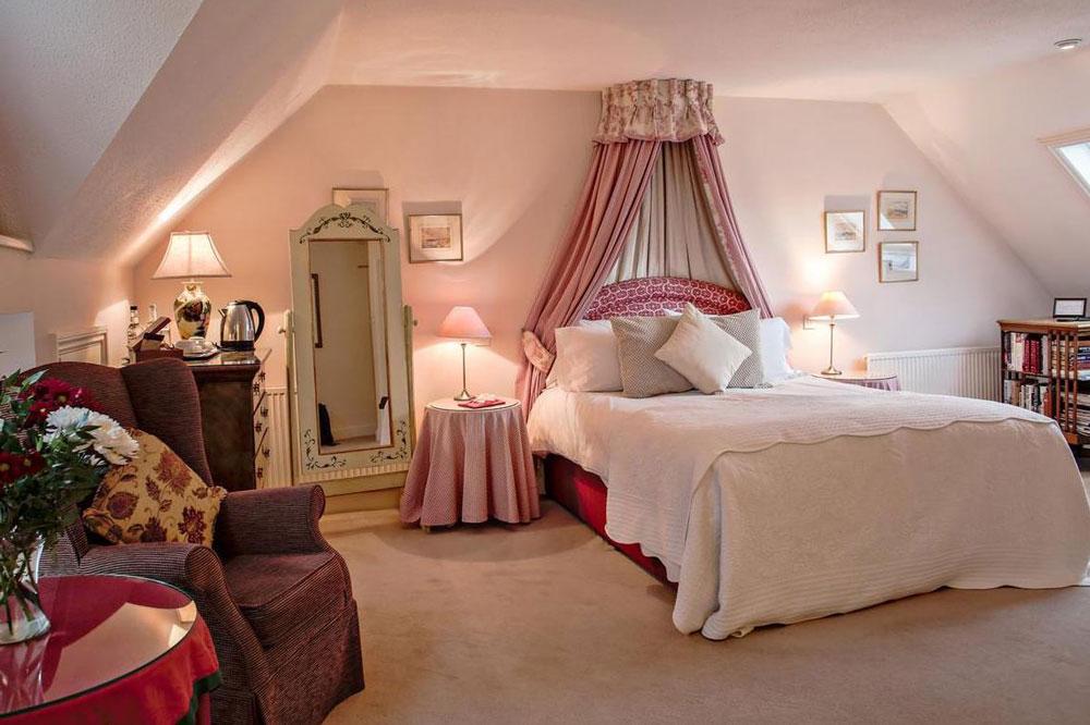 اتاق خواب عروس ساده و زیبا