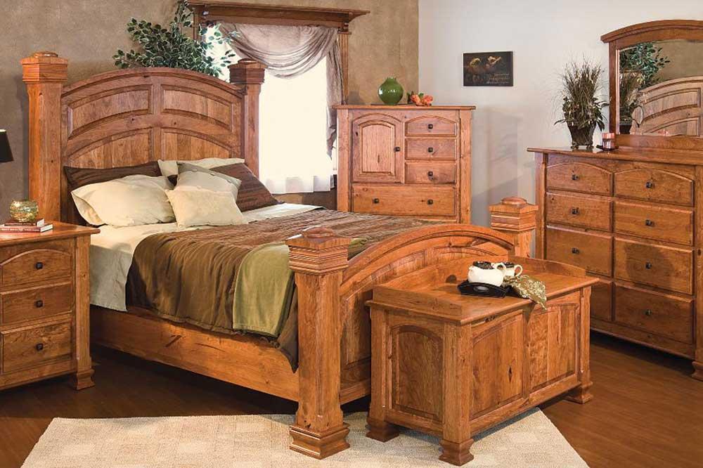 تخت چوبی کلاسیک