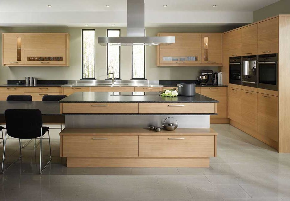 مدل مدرن در آشپزخانه