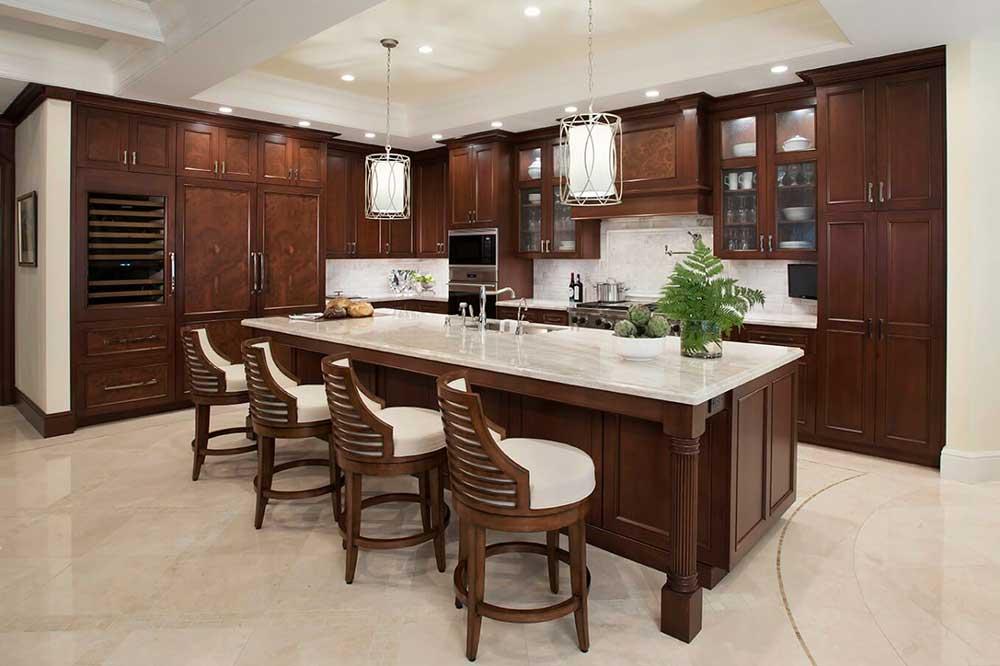 مدل آشپزخانه جزیره ای