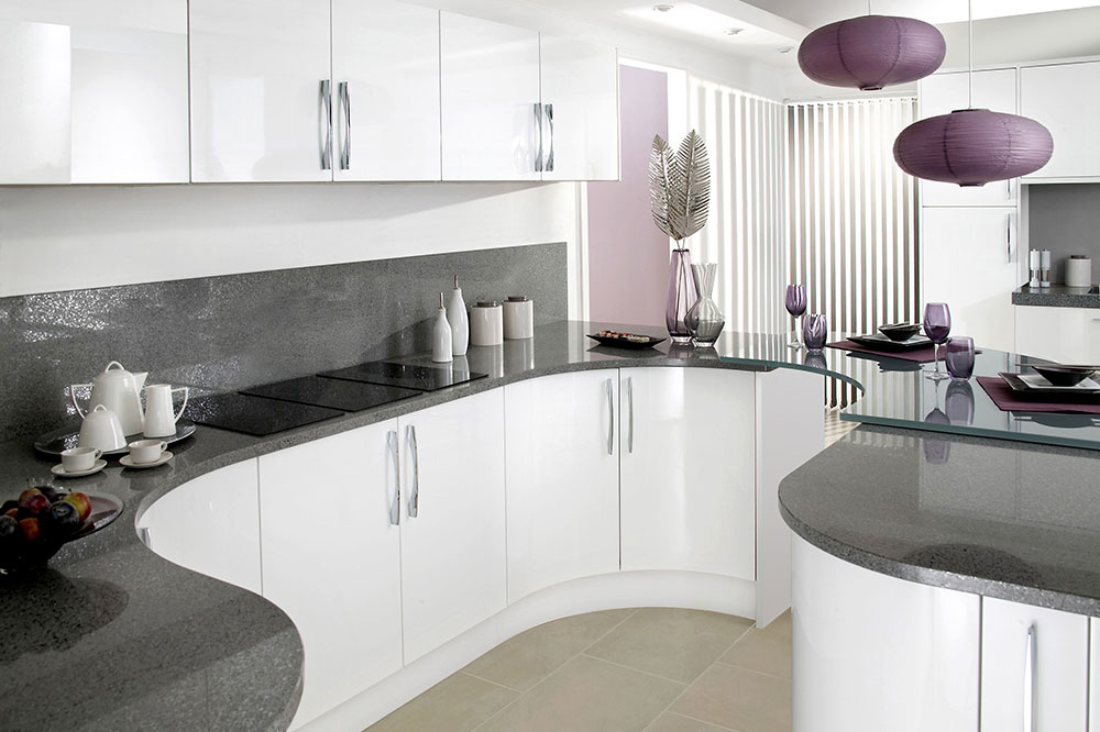 کابینت آشپزخانه هایگلاس، منعطف و زیبا!