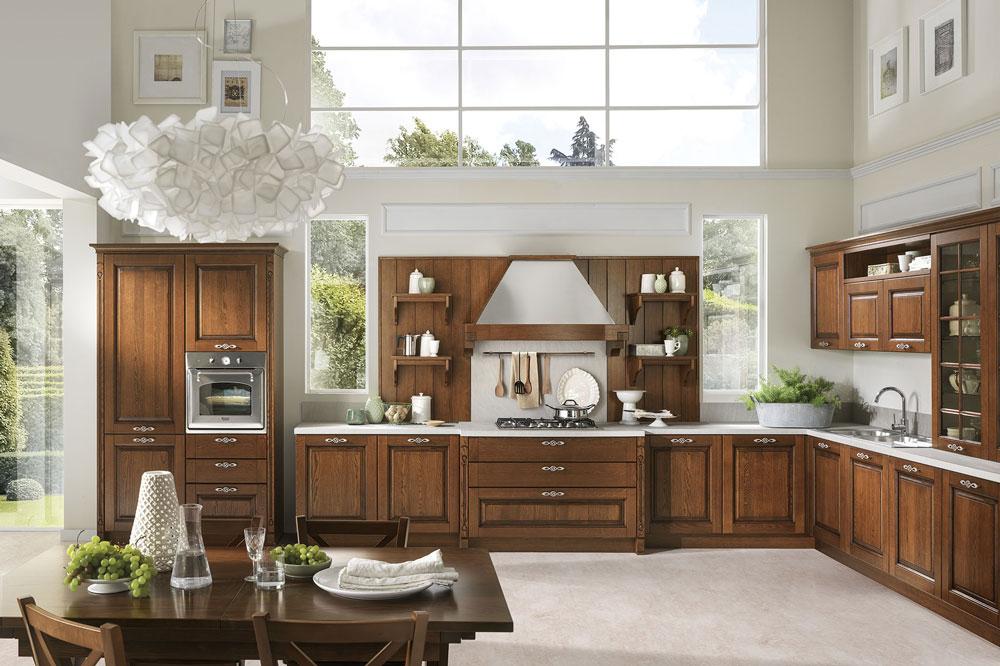 آشپزخانه شیک و لاکچری به سبک کلاسیک