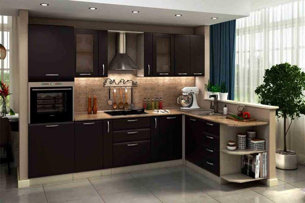 جدیدترین مدل کابینت آشپزخانه به صورت مینیمال