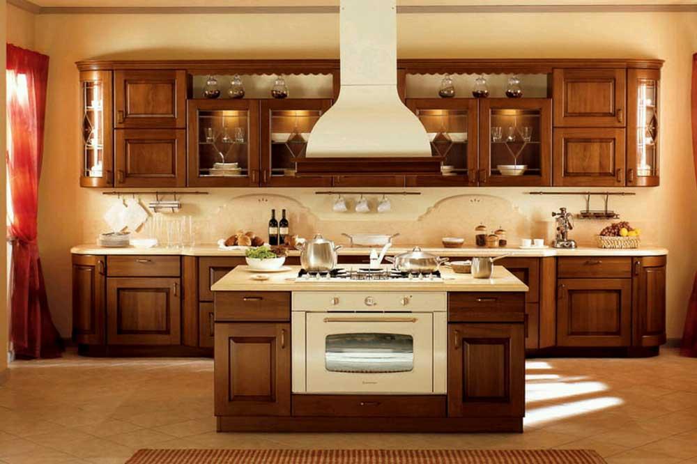 ممبران و سبک کلاسیک در جدیدترین مدل کابینت آشپزخانه