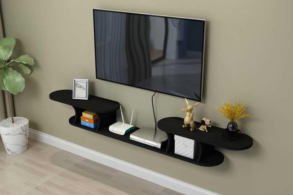 یک مدل میز تلویزیون ساده و متقارن