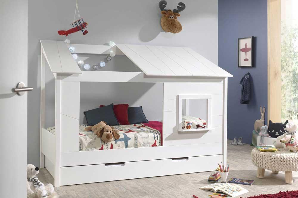 مدل تخت خواب کلبه ای شکل برای کودک دلبند شما
