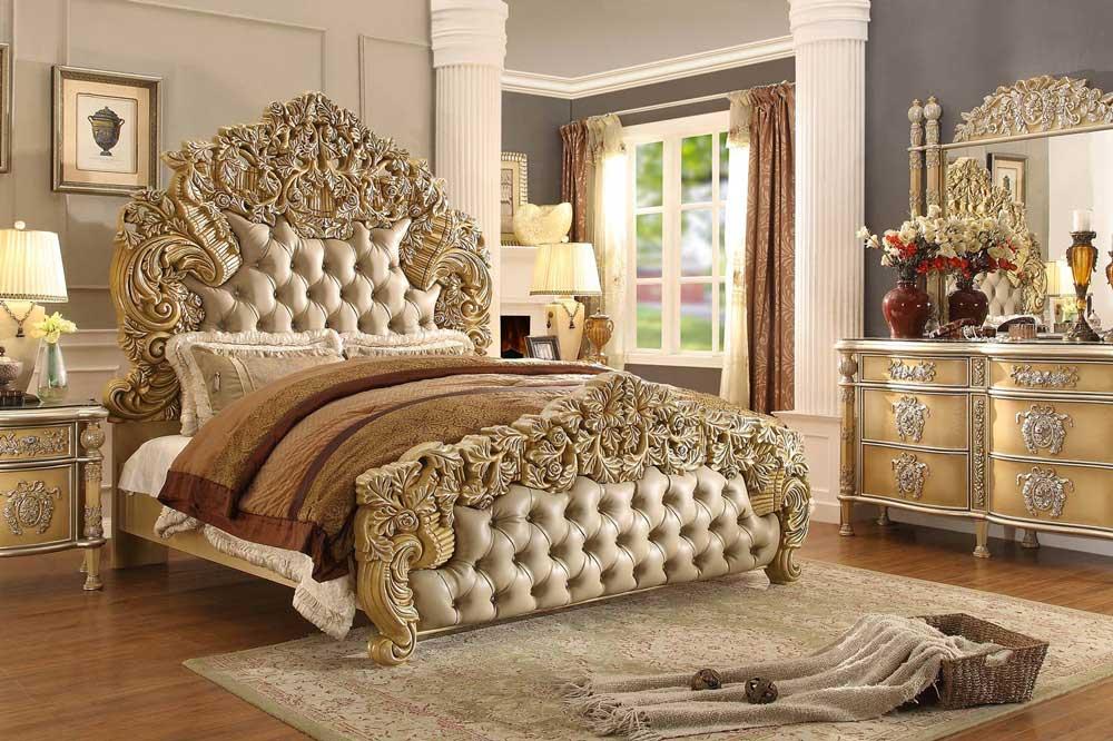 تخت خواب کلاسیک، الگوی طراحی تختی سلطنتی