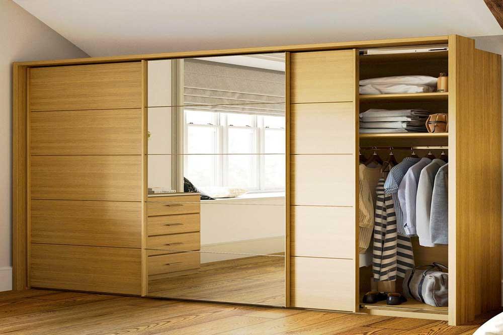 خرید کمد لباس ارزان، ساخته شده از متریال با کیفیتی مانند ام دی اف