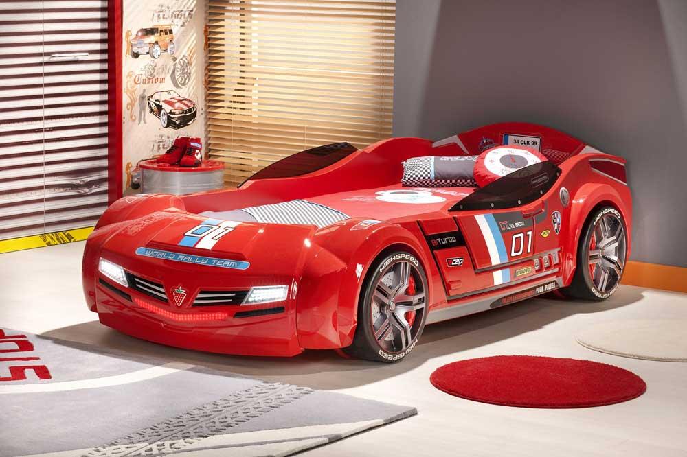 اتومبیل یکی از بهترین مدل های تخت پسرانه