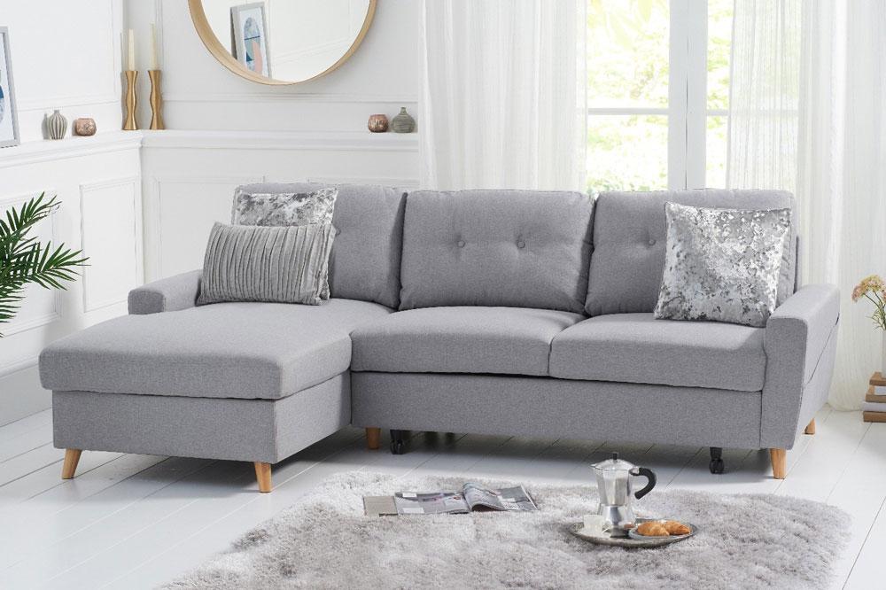 کاناپه تخت شو با پشتی محکم و امن