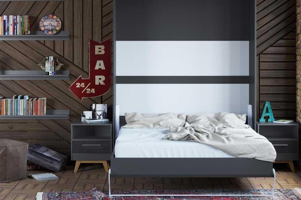 شلف ها و باکس های مینیمال، زیبایی تخت تاشو