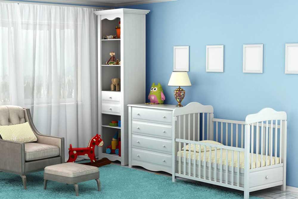 انتخاب بهترین سرویس خواب نوزاد پسر با توجه به بی خطر بودن المان ها