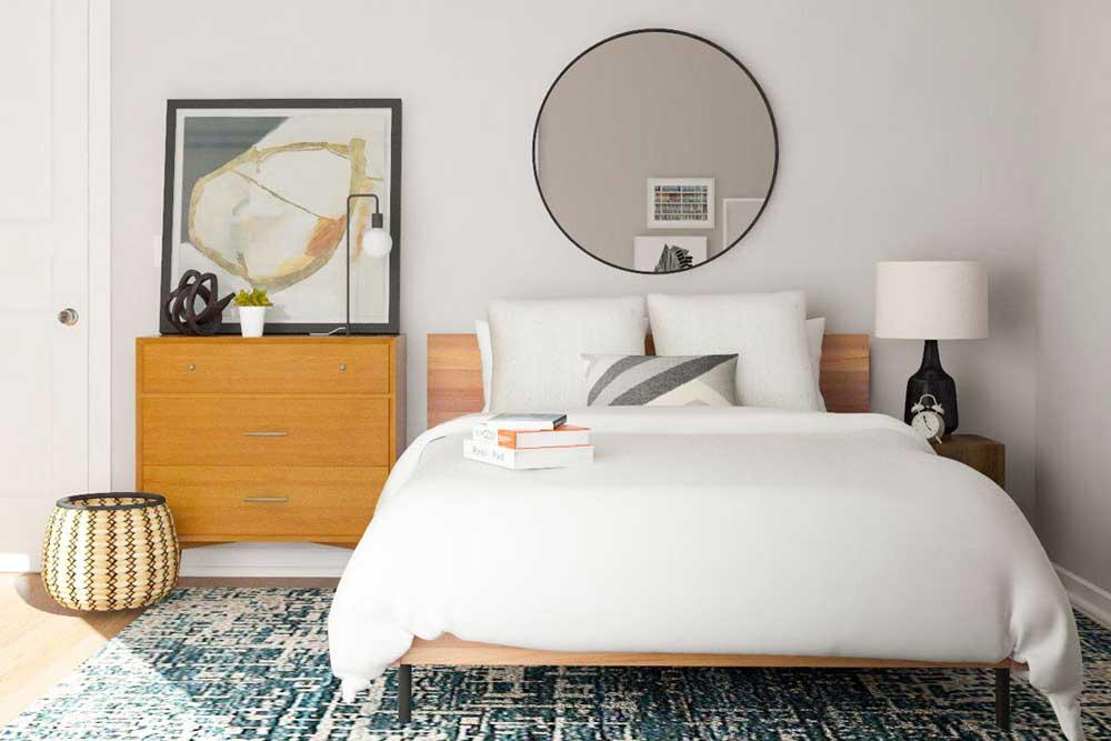5 ترفند ساده برای داشتن یک اتاق خواب ساده و شیک