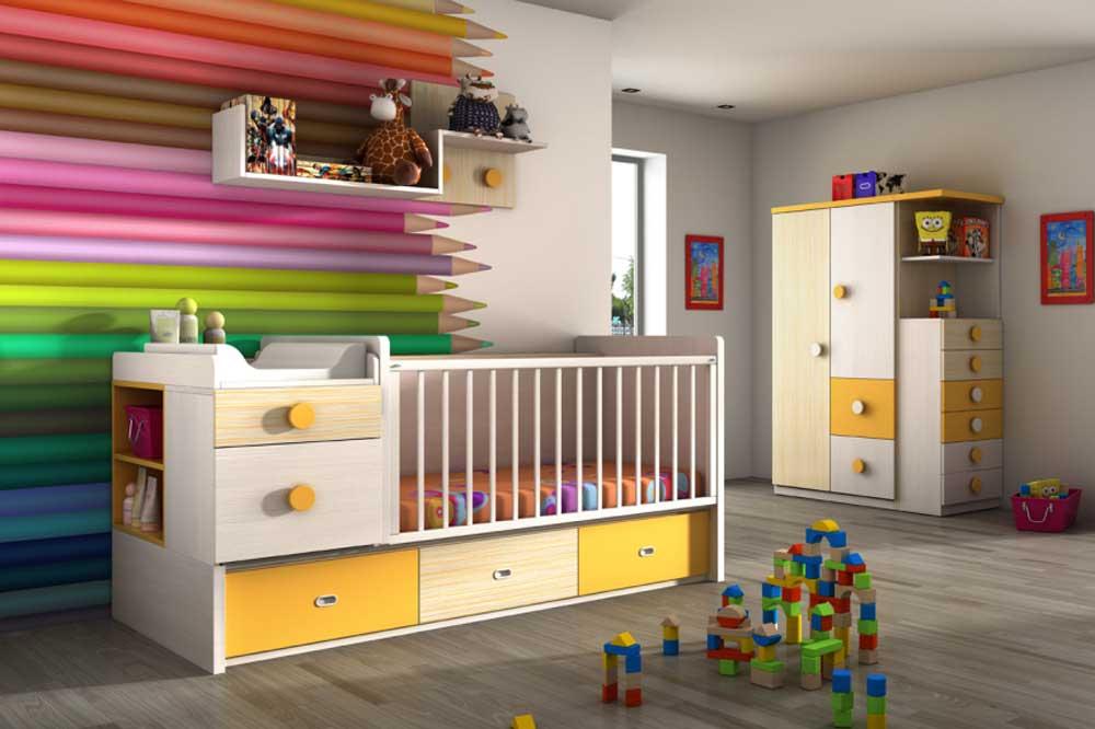 خلاقیت و طراحی های زیبا در سرویس خواب نوزاد پسر
