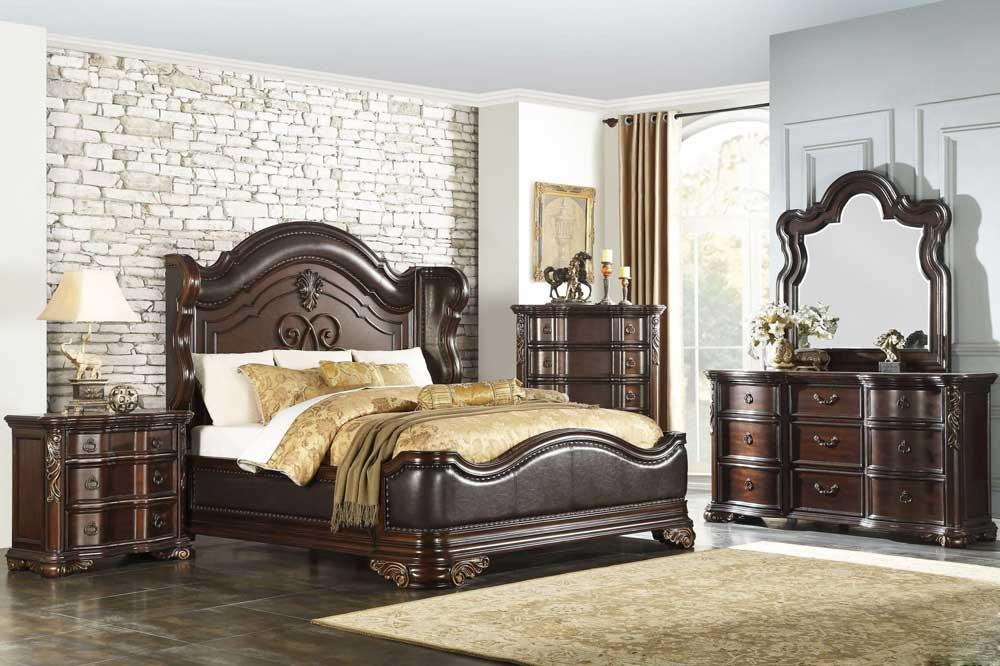 چرم و چوب، ترکیبی زیبا در تختخواب های کلاسیک