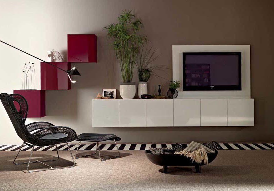 میز تلویزیون دیواری جدید: ایجاد محلی چشم گیر برای تماشای تلویزیون