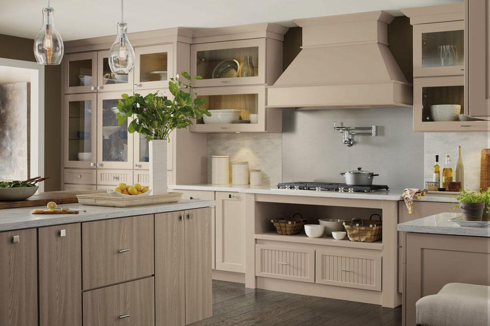 کابینت رنگ بژ: باید ها و نبایدهای استفاده از بژ در آشپزخانه