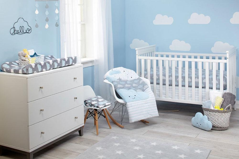 ساده و امن بودن تخت خواب برای نوزاد