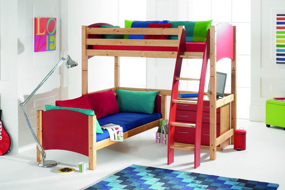 تخت دو طبقه متقاطع