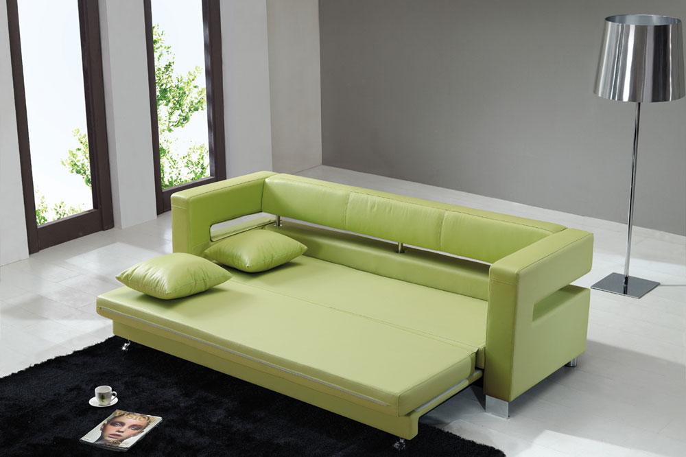 تخت یک نفره تا سه نفره با یک کاناپه تخت شو زیبا