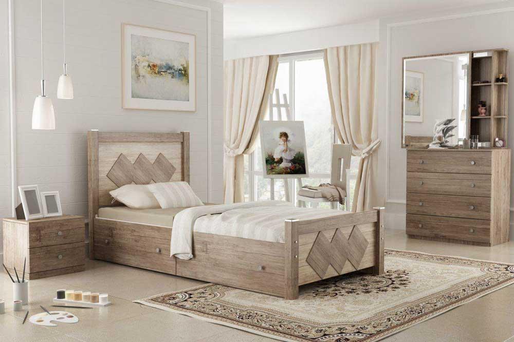 اتاقی مناسب برای سرویس خوابی زیبا