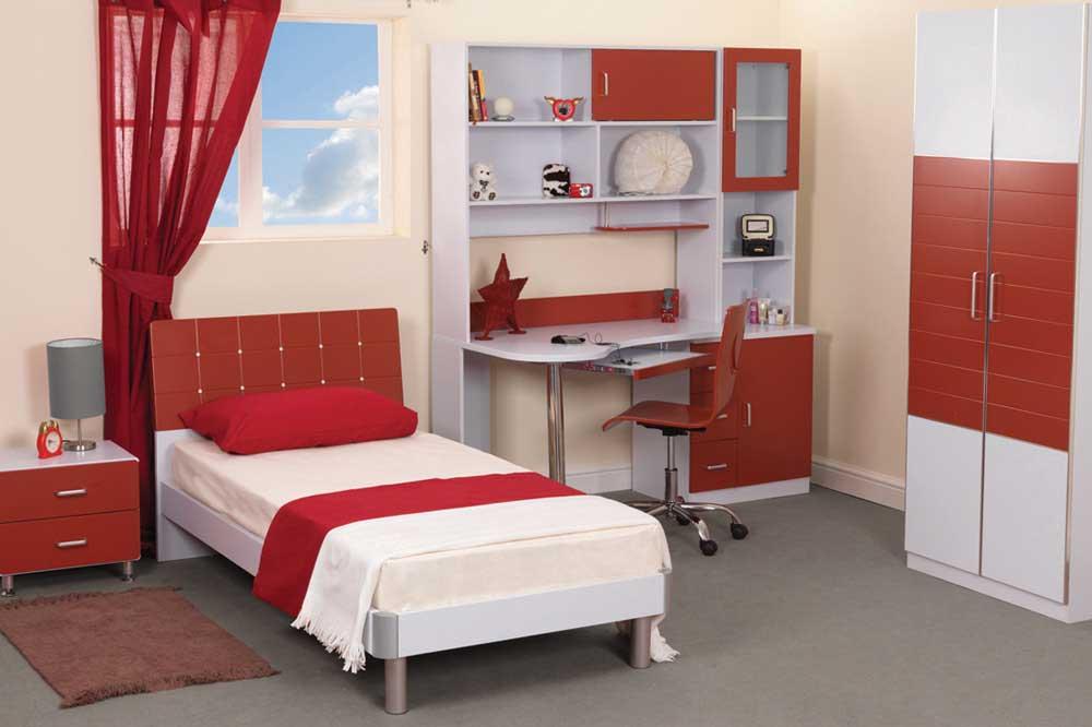 ایجاد فضای مطالعه در سرویس خواب یک نفره