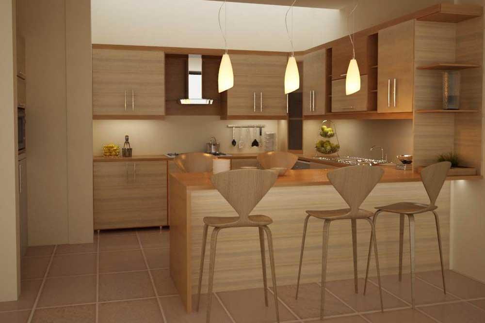 آشپزخانه در طراحی داخلی منزل ایرانی