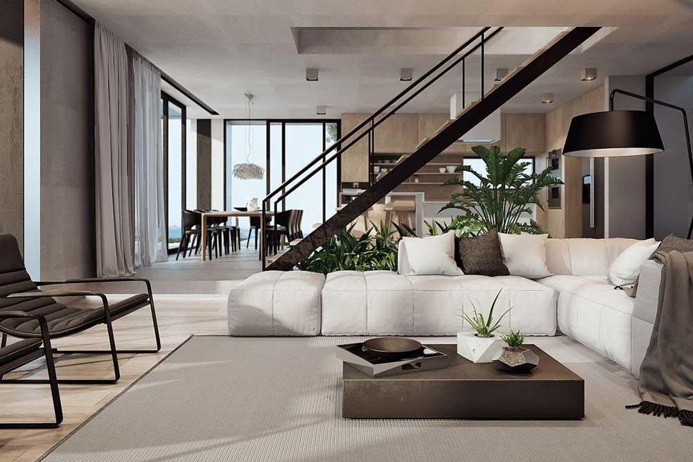 فضای داخلی باز در خانه های مدرن و شیک