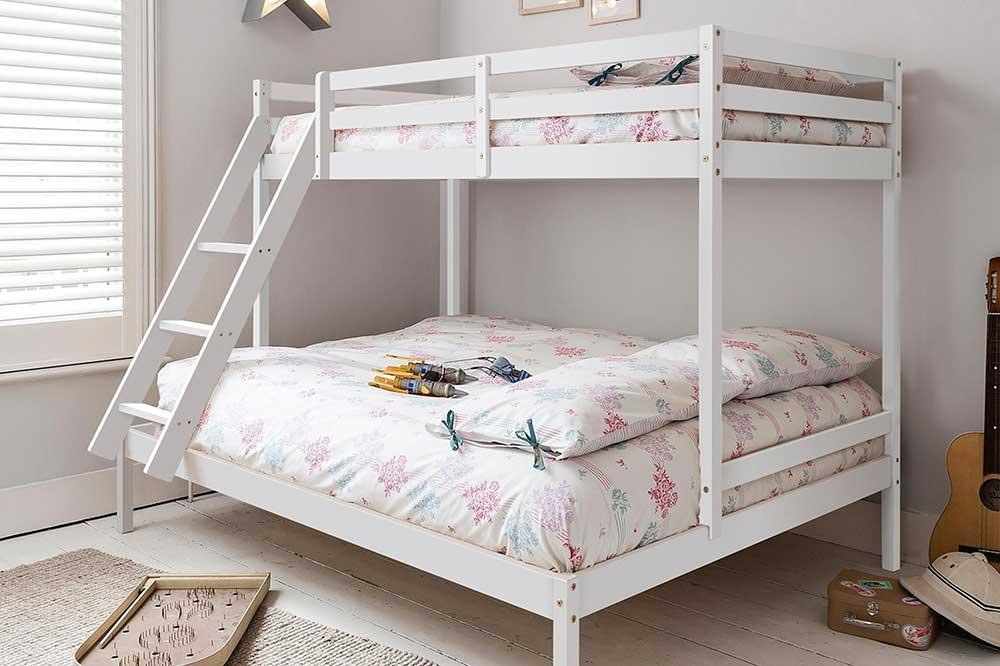 تخت دو طبقه فلزی