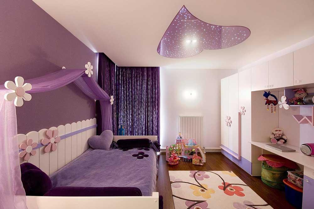 انتخاب رنگ در دکوراسیون اتاق نوجوان دختر