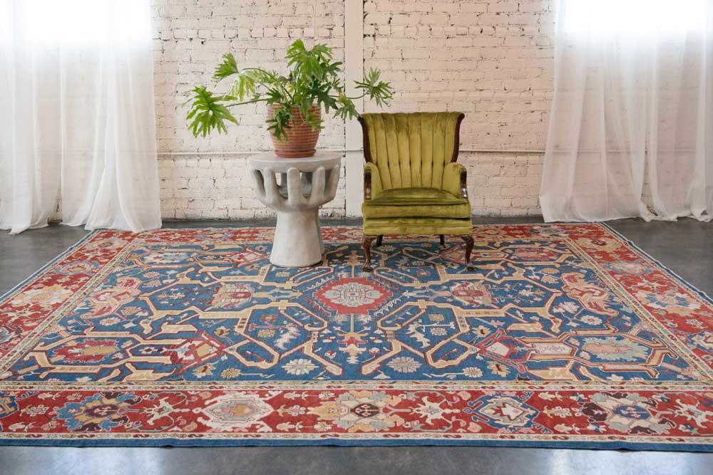 فرش در طراحی داخلی منزل ایرانی
