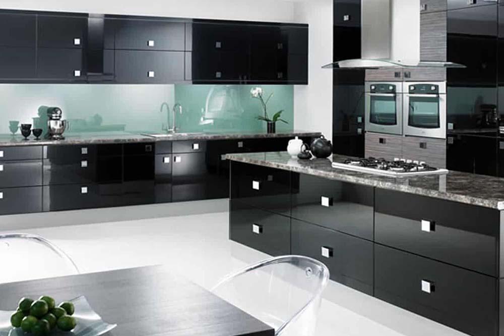 کابینت آشپزخانه مشکی