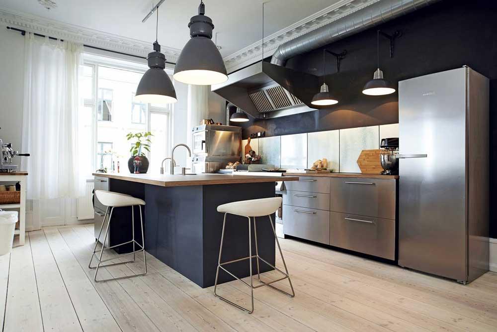 رنگ بندی آشپزخانه های شیک