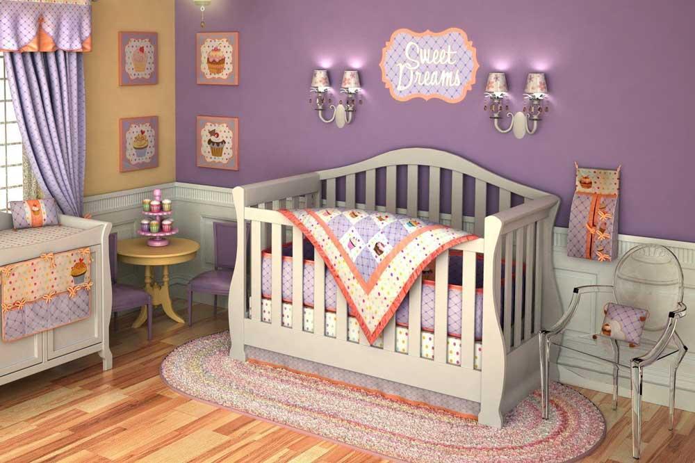 سرویس خواب نوزاد دختر: خواب گاه رویایی نوزاد دختر شما