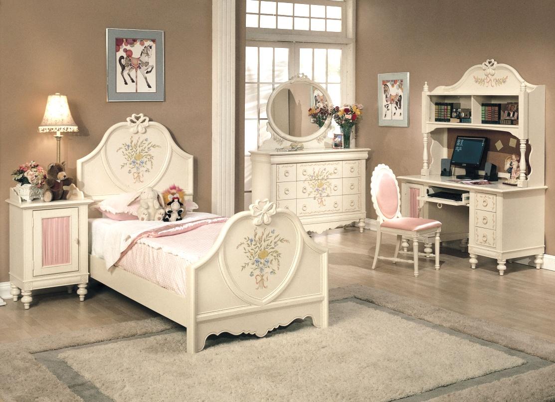 اتاق خواب کلاسیک دخترانه
