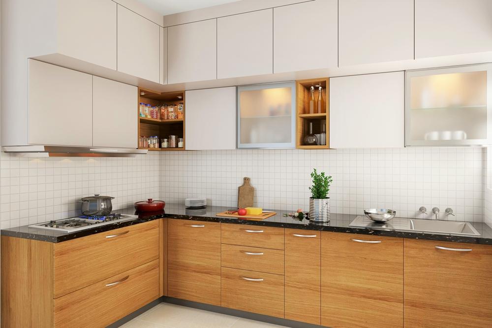 مدل کابینت ام دی اف آشپزخانه کوچک
