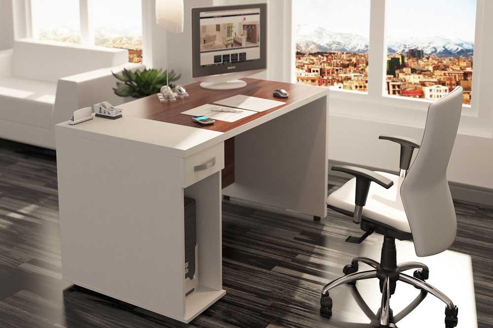 میز مدیریت سفید