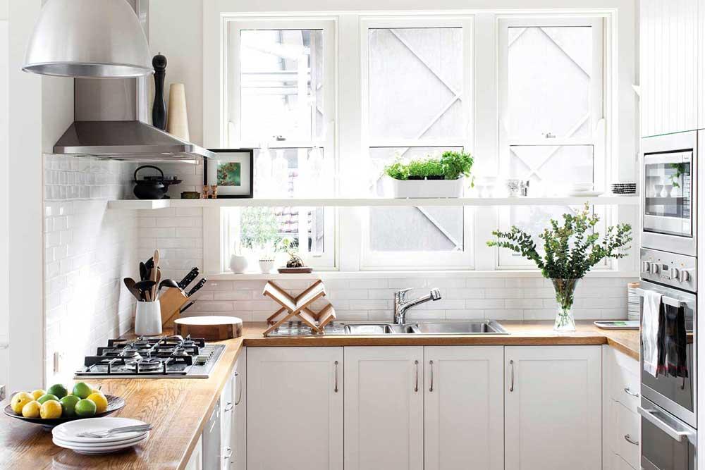 طراحی دکوراسیون آشپزخانه جدید شما با المان های ساده و زیبا