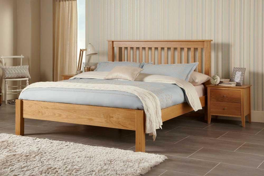 مدل تخت خواب چوبی ساده