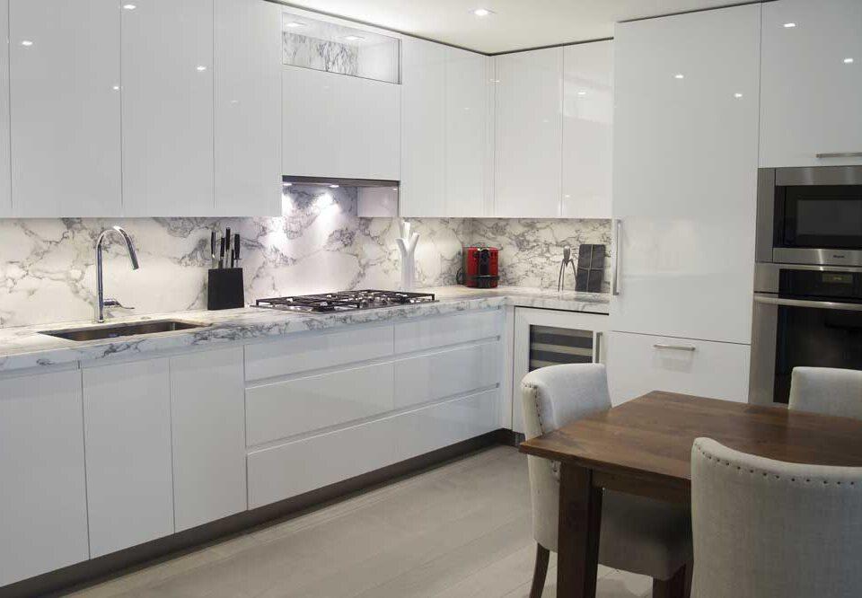 مزایای آشپزخانه سفید