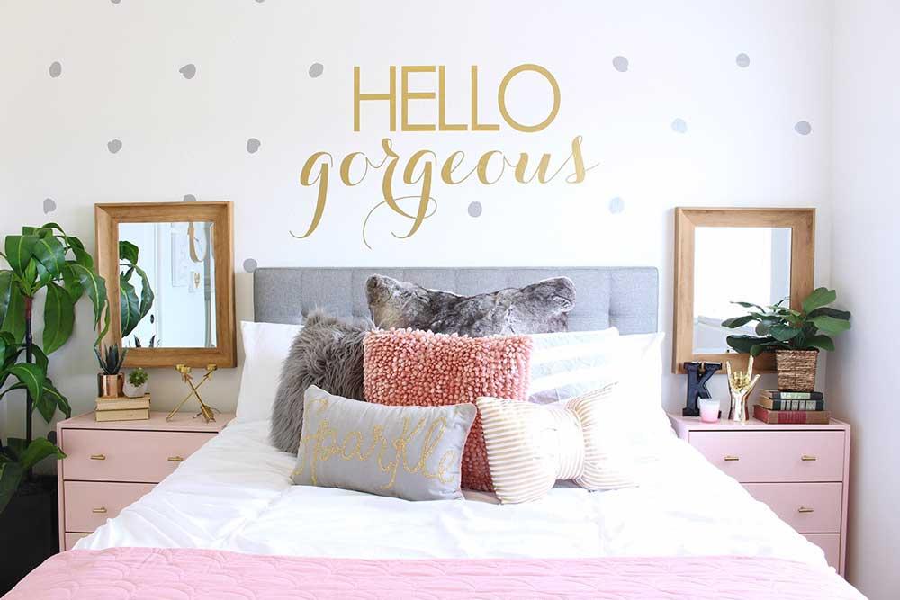 جنس، رنگ و مدل تخت خواب دخترانه نوجوان