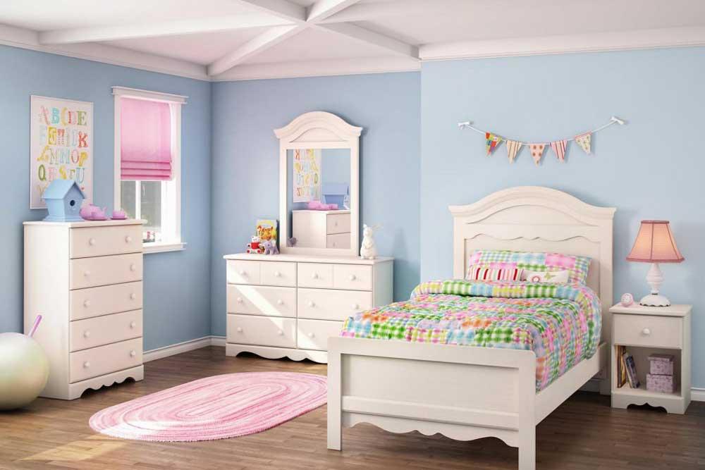 رنگ تخت خواب دخترانه نوجوان
