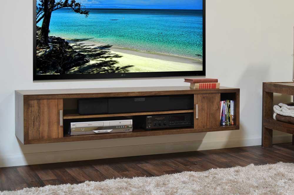 میز تلویزیون چوبی باکس دار